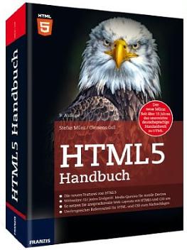 Titelbild des HTML5-Handbuchs